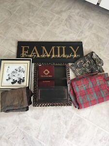 Wall hangings and fabric