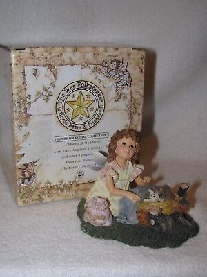 "1E Boyd's Wee Folkstones Collection Figurine ""Slumber Faeriedreams W/Nod""  MIB"