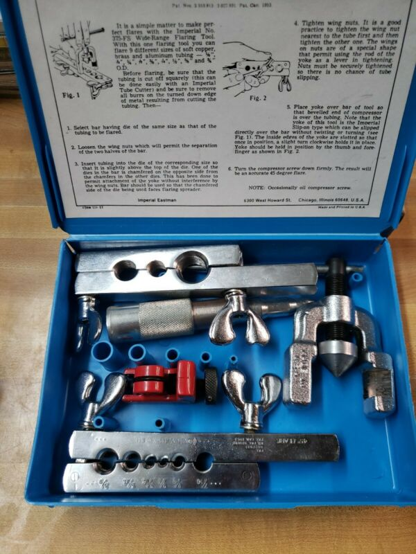 Gould Imperial-Eastman Flaring Tool Kit #375-FS great shape!!