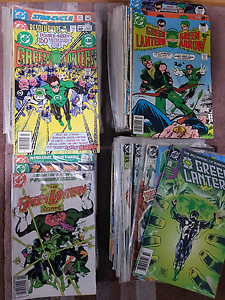 Massive Green Lantern comic collection St Leonards Willoughby Area Preview