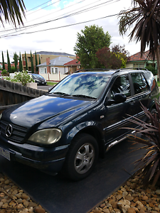Mercedes ML 320 4x4 with RWC and long rego Maidstone Maribyrnong Area Preview