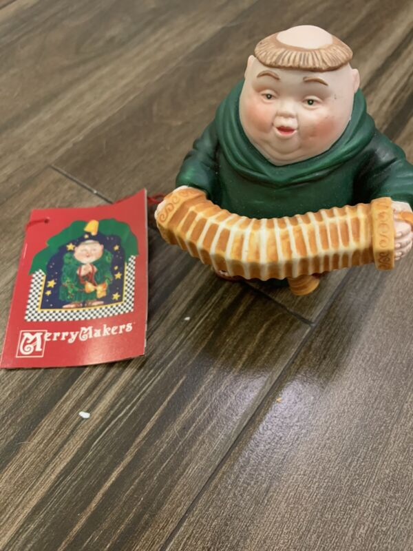 Dept 56 Merry Makers Clarence the Concertinist NEW