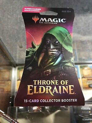 MTG Magic the Gathering Sealed Throne of Eldraine Collectors Booster Pack