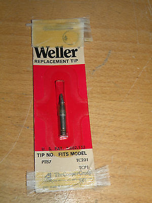 New Weller Ptb7 .093 X .62 X 700f Single Flat Tip For Tc201 Tcp1 Series Irons