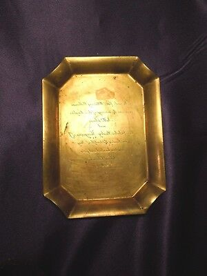 (Copper Wedding Invitation Ink Plate Tray)
