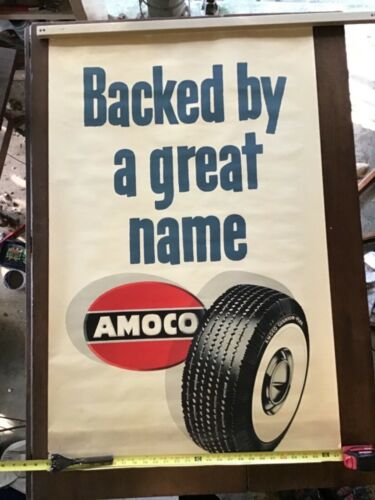 Old Amoco Backed By A Great Name Poster 4