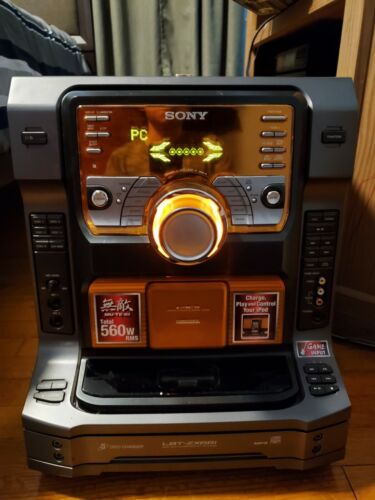 Sony LBT-ZX66i Stereo 560 Watts HiFi Music System No Speakers