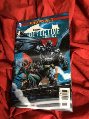 BATMAN DETECTIVE FUTURES END #1~LENTICULAR 3-D VARIANT~DC COMICS BOOK~1st PRINT~