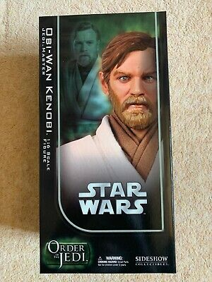 Sideshow Star Wars Obi-Wan Kenobi Jedi Master Order of The Jedi 1:6 SCALE