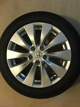 """Honda Accord 17"""" alloy wheels with near new tyres East Perth Perth City Preview"""