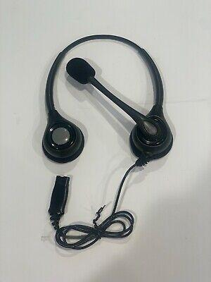 Plantronics SupraPlus HW261N Binaural Noise-Canceling Phone QD Headset 36834-41 Plantronics Supraplus Binaural Headset
