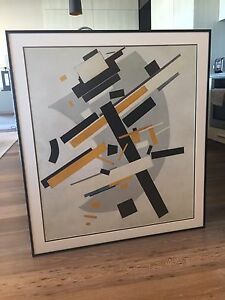 Framed Kasimir Malevich print Fremantle Fremantle Area Preview