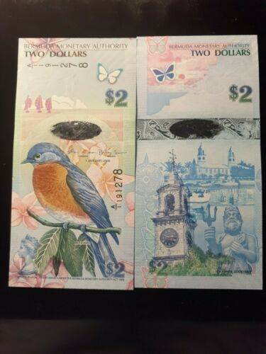 2009  TWO DOLLARS BERMUDA  P 57