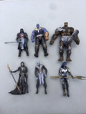 Marvel Legends Hasbro Blackorder Thanos Ronan Cull BAF Lot Used