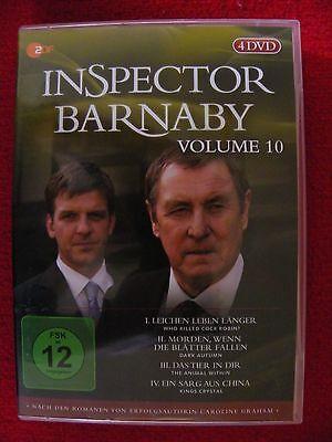 INSPECTOR BARNABY - Vol. 10 - 4 DVDs - nach den Romanen von Caroline Graham