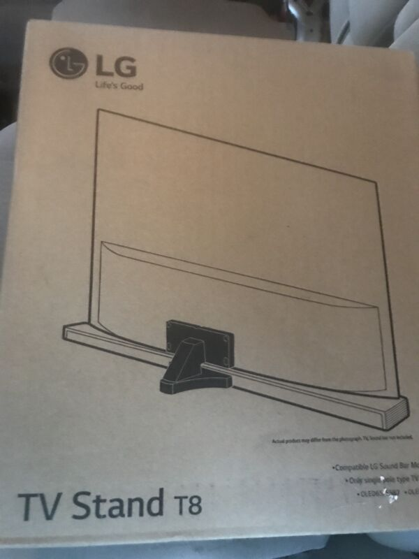 New in Box: LG - Sound Bar Bracket Stand for Most LG OLED TVs up to 6...