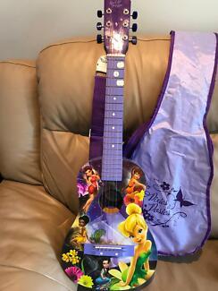 Kids Guitar - purple, tinkerbell