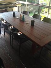 Outdoor Timber Table Mansfield Brisbane South East Preview