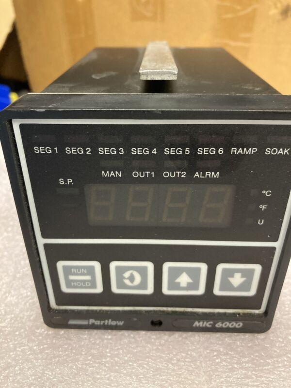 Partlow MIC 6000 Temperature control