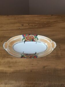 Noritake Japanese Oval China Bowl