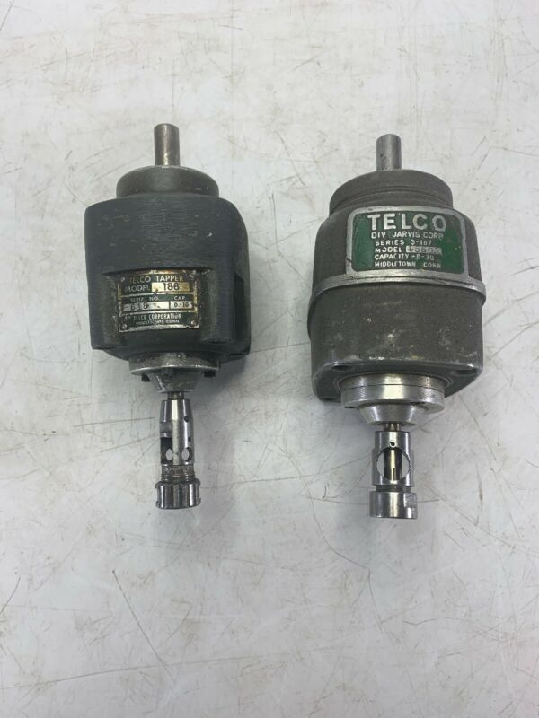 Lot of 2 Telco Tapper Tapping Head Model 188 and 3-187