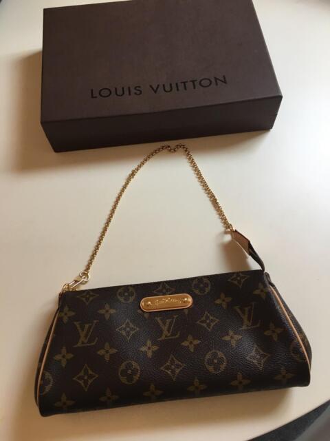 550a4ab88da3 Louis Vuitton Soffi Eva Monogram 2way 868633 Brown Coated Canvas