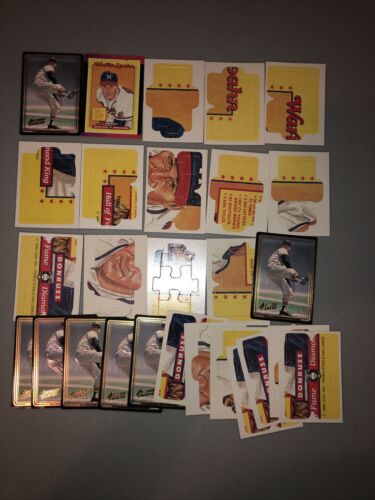 Warren Spahn Lot Of 27 Braves 14 Different Cards Base, Puzzle Inserts - $2.25