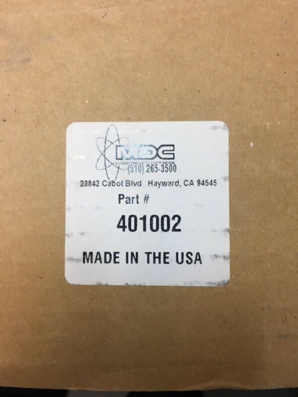 MDV Vacuum seal flange PN 401002