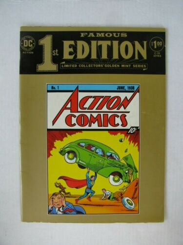 FAMOUS FIRST EDITION, ACTION COMICS #1