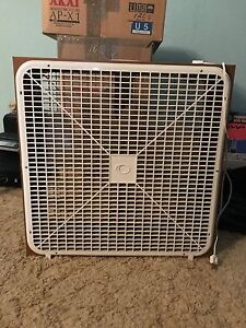 Box Fan (Best Offer)