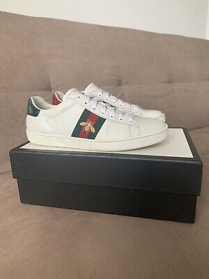 Womens 38 Uk 5 | 5.5 | 6 Gucci Ace Embroided Sneaker Designer Trainers  Bee