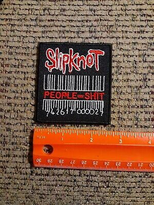 Slipknot Rock Band Sew or Iron on Patch NEW