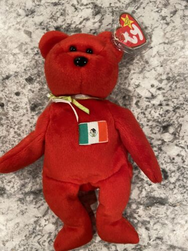 Ty 4299 Beanie Baby Osito Bear 1999 New With Tags - $5.00