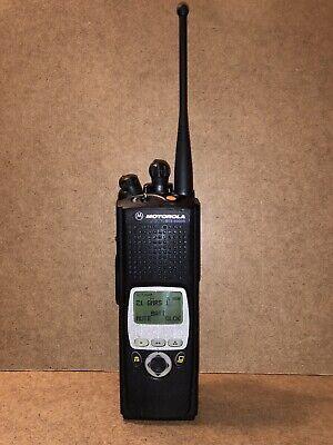 Motorola Xts5000 M2 Mii Uhf 380-470mhz H18qdf9pw6an 9600 Baud Trunking P25