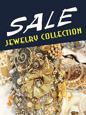 Sale Jewelry Collection Jewelry Retail Display Sign 18w X 24h Full Color