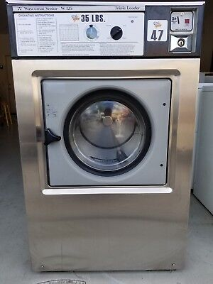 Coin Op Commercial Washer Front Load Wascomat 35lb As-is 3 Phase
