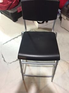 Excellent condition stackable hobby/workshop chairs
