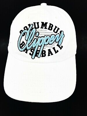 Columbus Clippers Baseball White Hat Stitched Adjustable Snapback '47 Brand - 47 Brand Blank Hats