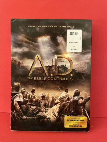 A.D. The Bible Continues DVD New Factory Sealed - $22.99