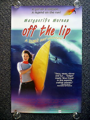 OFF THE LIP Surfing Original 2000s One Sheet Movie Poster Marguerite Moreau