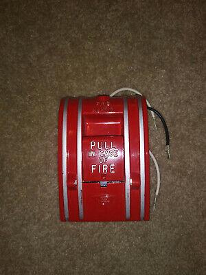 Edwards 270-spo Fire Alarm Pull Station Box