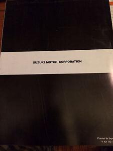 2000 -2003 Suzuki GSF600 Bandit Service Manual Regina Regina Area image 4