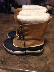 Sorel caribou winter boots.