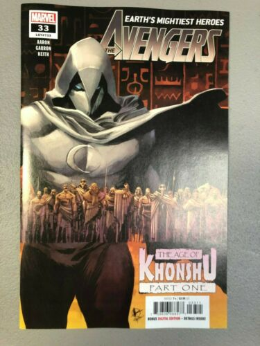 Avengers 33 Main Cover NM 33A First 1st print MOON KNIGHT Age of Khonshu Aarion