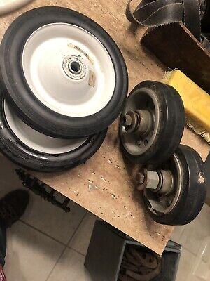 4 Vintage Industrial Wheel 2 Noelting Faultless All Solid