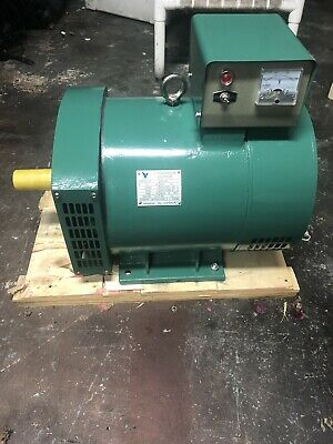 12kw St Generator Head Two Bearing 1 Phase 120240 Alternator 4 Pole 1800rpm