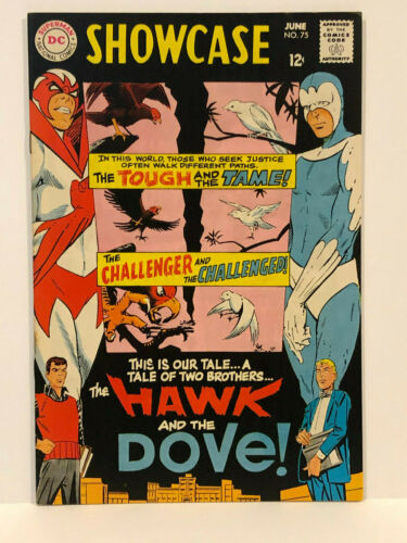 Showcase #75 (1968) 1st app. of Hawk and Dove
