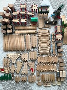Authentic Wooden Thomas the Train Lot