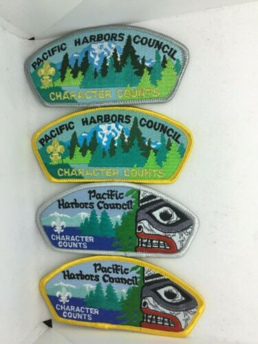 Pacific Harbors Council 1998 Friends of Scouting - SA 11-14 - 4 patches