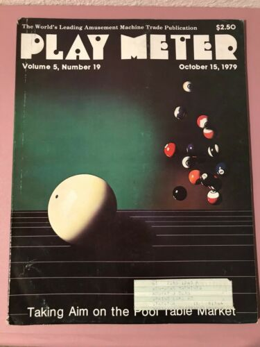 Play Meter Magazine Oct 15th 1979